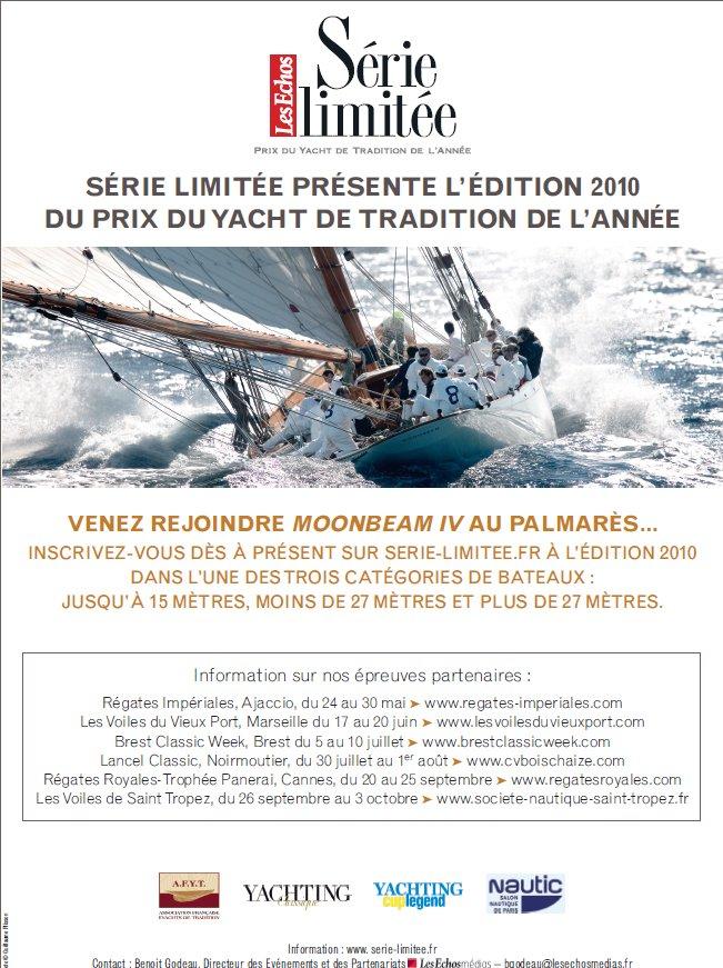 Prix Yacht de tradition - Les Echos - Série Limitée