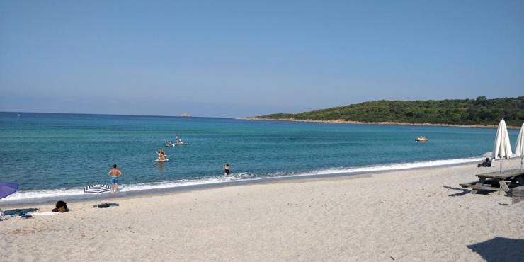 Plage de Capo Di Feno - Septembre - Hors saison en Corse