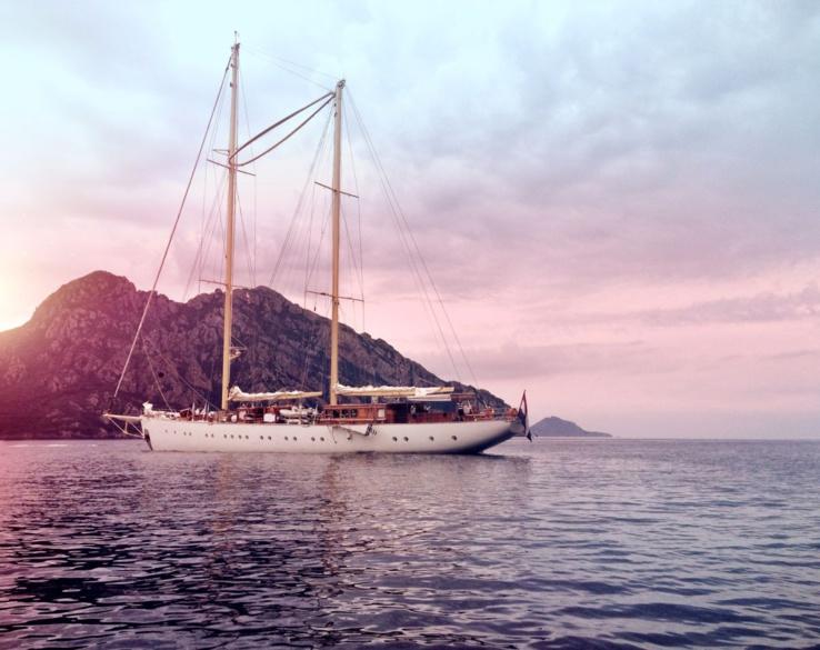 Vieux gréement en Corse