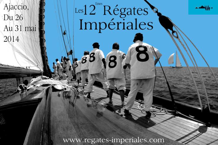 L'affiche des Régates Impériales 2013