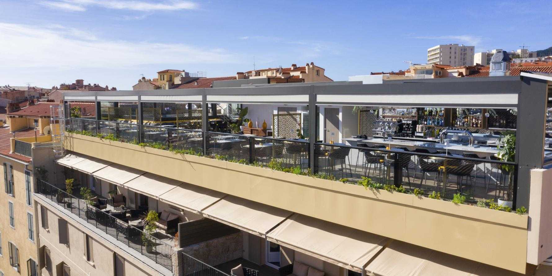 Rooftop et restaurant panoramique