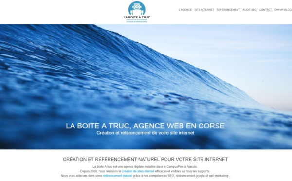 Notre agence internet et SEO à Ajaccio