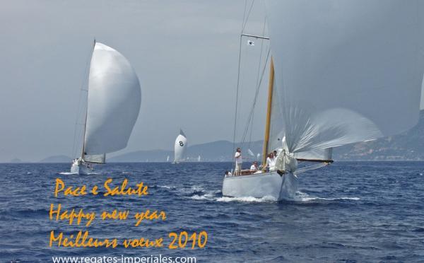Les Régates Impériales vous souhaitent une grande et belle année 2010