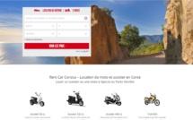 Louer une moto ou un scooter à Ajaccio